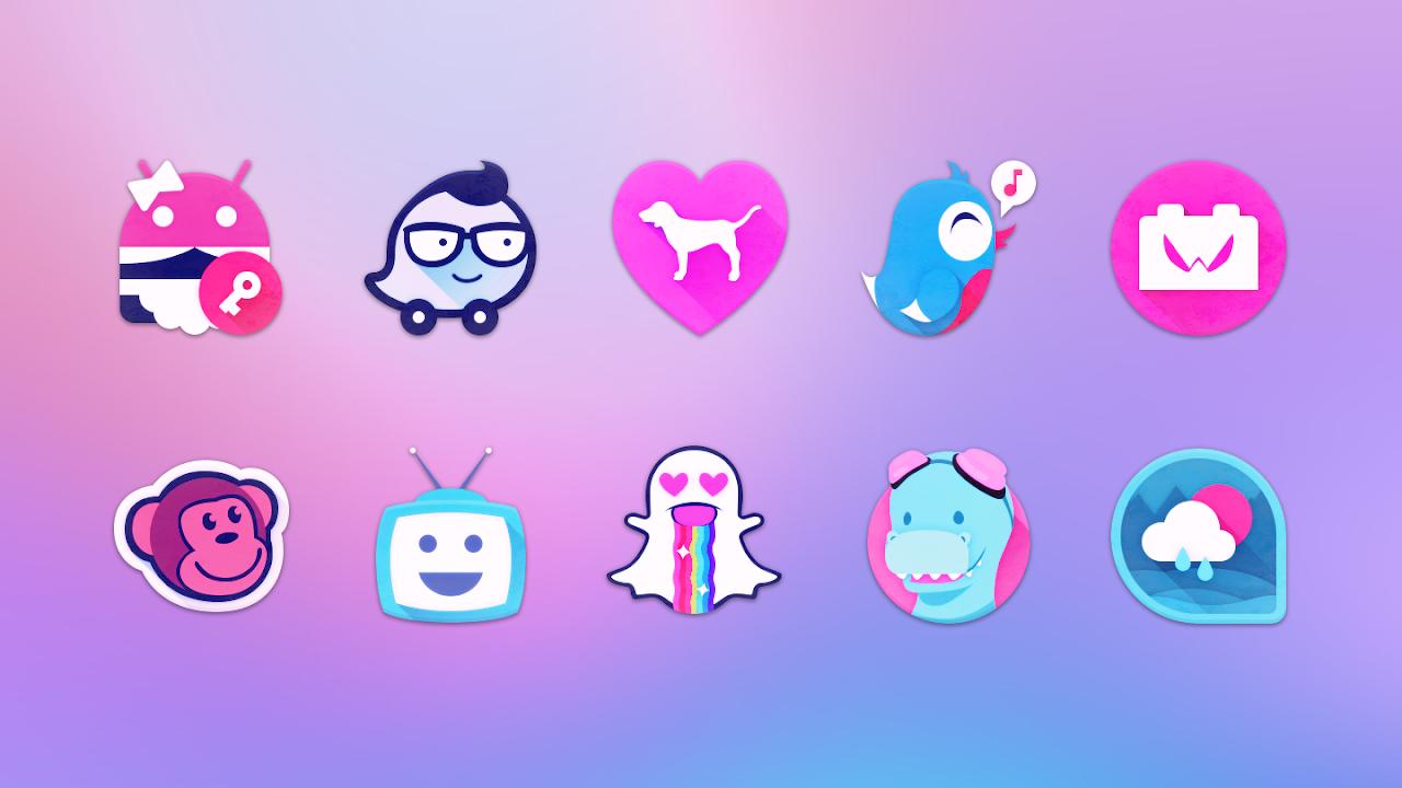 Unicorn - Free Icon Pack screenshot 1