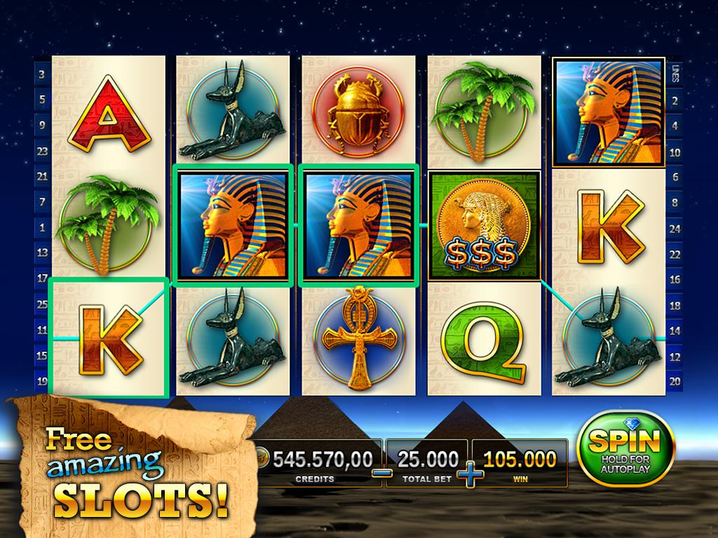 Slots Pharaoh's Way - Online Casino & Slot Machine screenshot 2