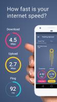 Meteor: Free Internet Speed & App Performance Test Screen