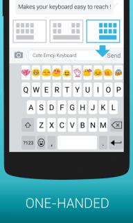 Emoji Keyboard - Kitkat,Smiley screenshot 9