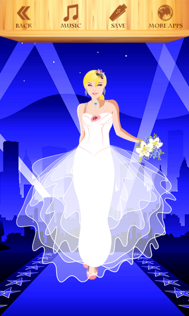 Las vegas wedding dress up download apk for android for Design your own wedding dress app