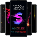 AMOLED Wallpapers 4K - Black & Dark Background
