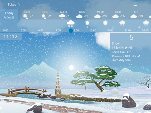 awesome weather yowindow live wallpaper widgets screenshot 13