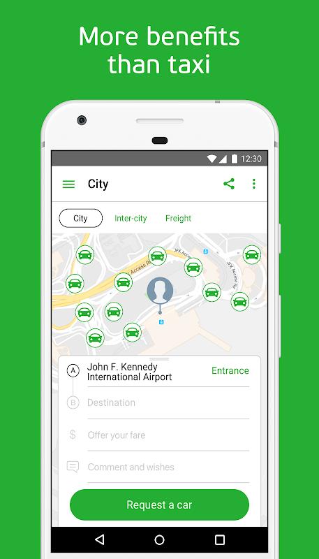 inDriver — Better than a taxi screenshot 1