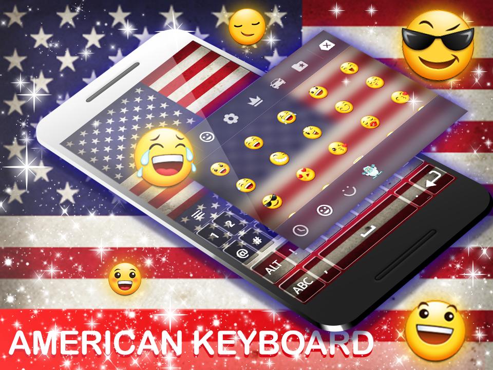 American Keyboard 2019 screenshot 2
