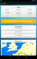 Meteo ciel Screenshot