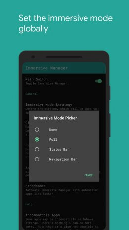 Immersive Mode Manager 1 3 1 Download APK for Android - Aptoide