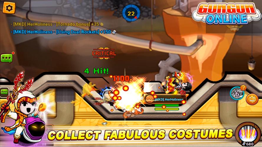 Gungun Online: shooting game screenshot 5