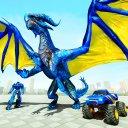 Dragon Robot Car Transform