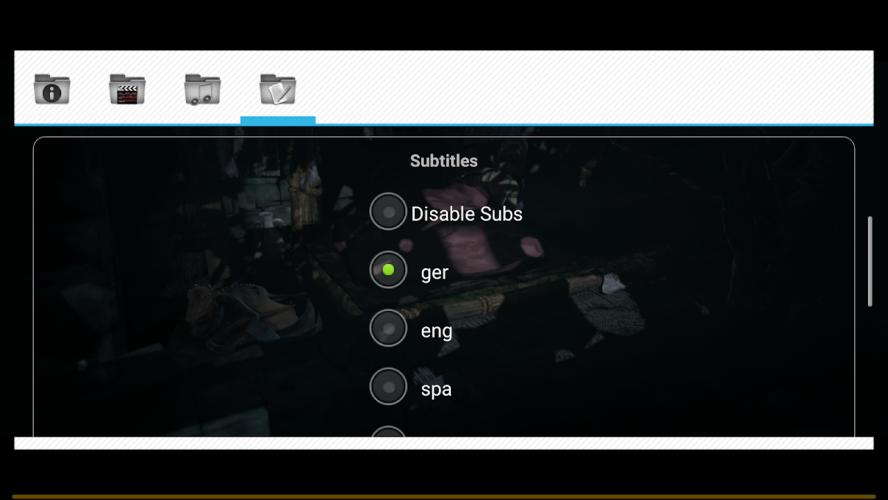 Wuffy Media Player screenshot 4