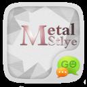 GO SMS PRO METALR THEME EX
