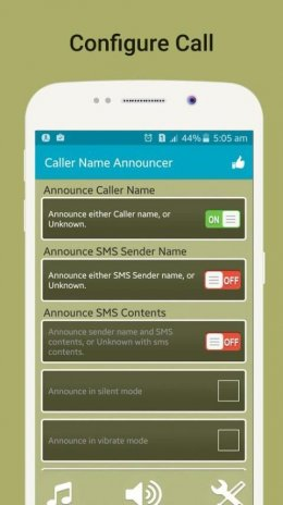 Caller Name Announcer, Flash on call and SMS 3 1 0 Download