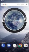 3D BEST Moon Clock Widget Screen