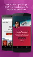 Kobo Books - eBooks & Audiobooks Screen