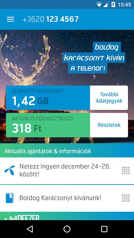 MyTelenor screenshot 2