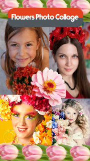 Flowers Photo Collage screenshot 1