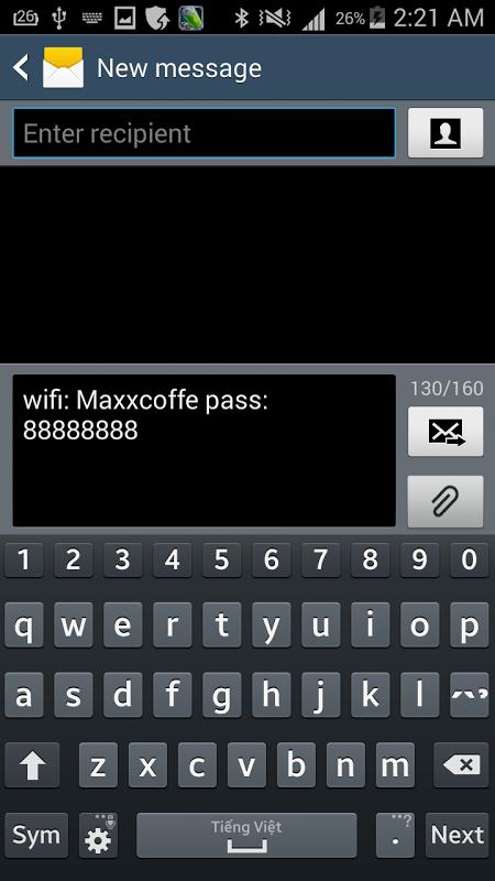 Wifi Password [Root] screenshot 1