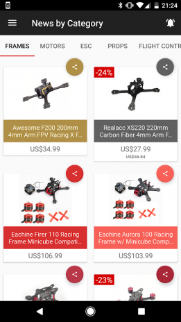 FPV Drone Parts - News & Sales 1 1 0 Download APK for Android - Aptoide