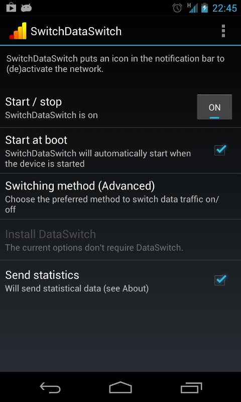 SwitchDataSwitch screenshot 2