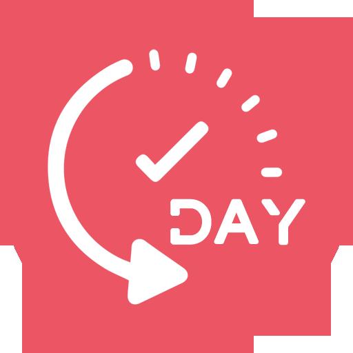 DAY DAY Countdown Widget