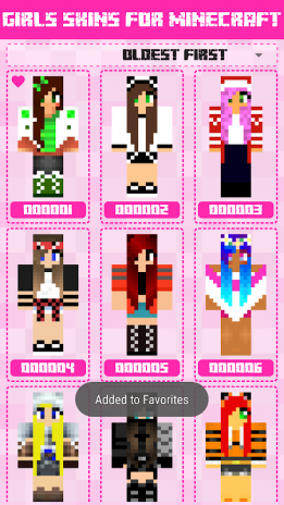 Girls Skins For Minecraft PE Descargar APK Para Android - Skins para minecraft pe android