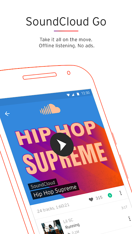 SoundCloud - Music & Audio screenshot 5