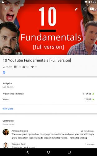 YouTubeStudio screenshot 12