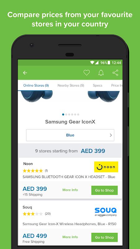 pricena UAE Shopping screenshot 1