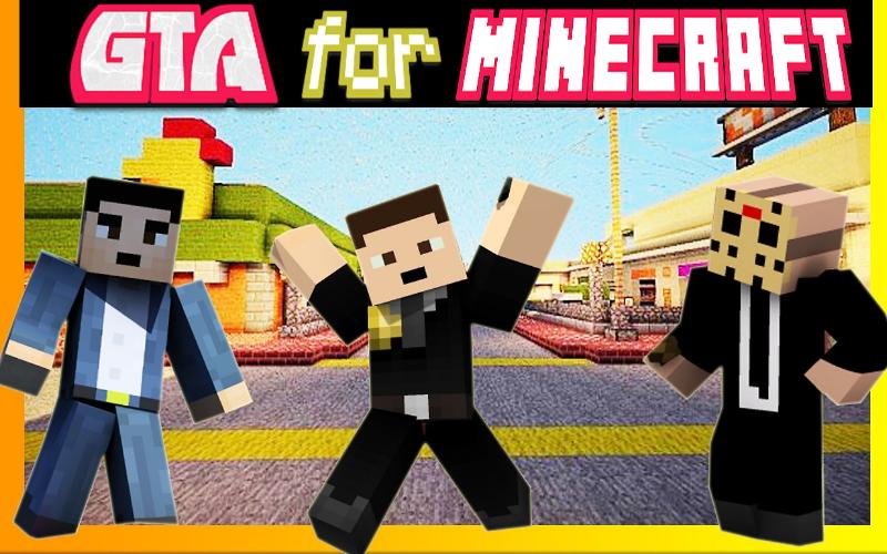 Mod & Skin GTA V for Minecraft screenshot 2