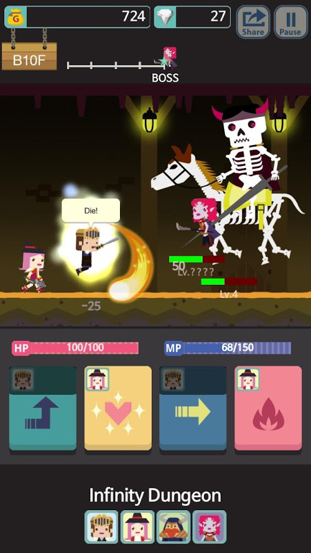 Infinity Dungeon VIP: RPG Adventure screenshot 1