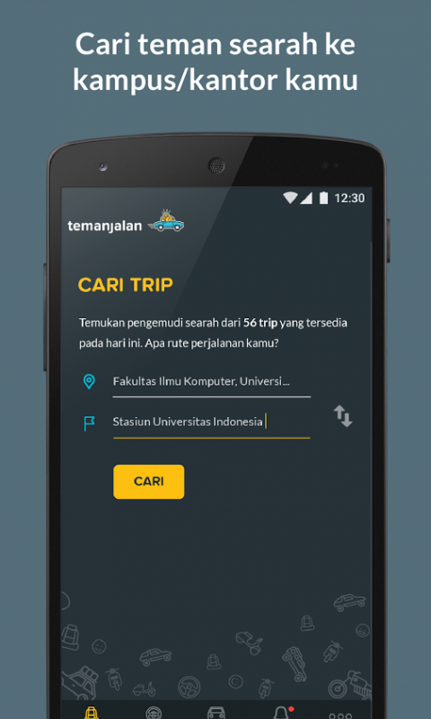 com.temanjalan screenshot 1