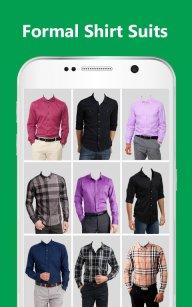 Man Formal Shirt Photo Suit Maker screenshot 8