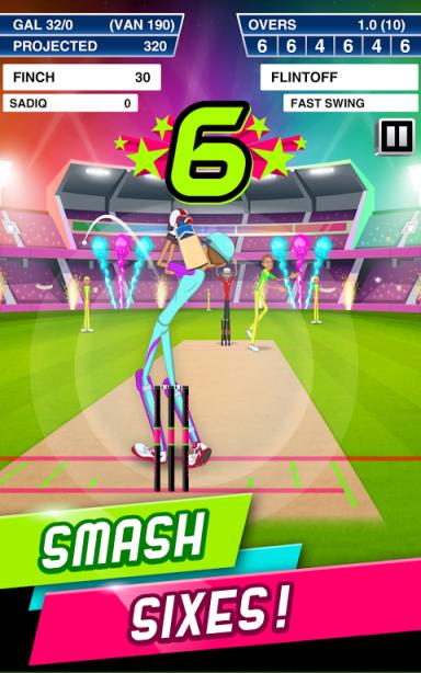 Stick Cricket Super League Screenshot