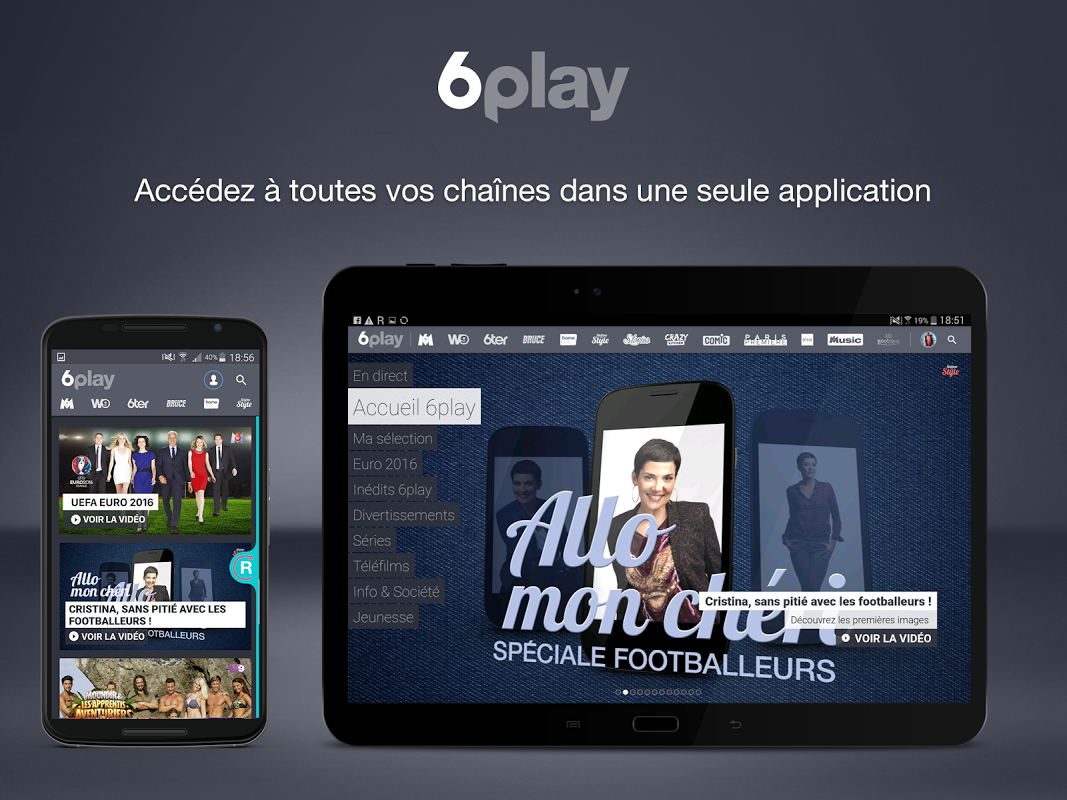 6play pour tablette