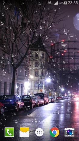 City Rain Live Wallpaper Pro Screenshot 2