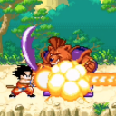 Dragon Goku Kid - Super Saiyan Fighting