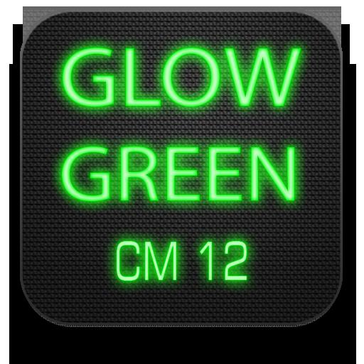 Glow Green CM13 CM12.x Theme