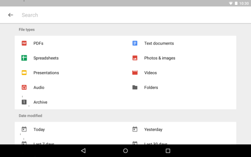 Google Drive screenshot 3