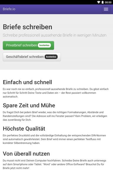 Briefe Schreiben Service : Briefe schreiben download apk for android aptoide