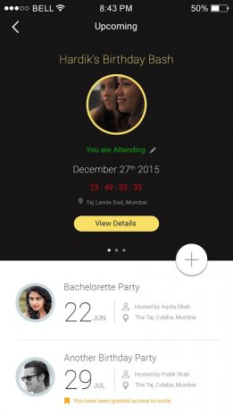 Guest List Invite Remind Rsvp Screenshot 6
