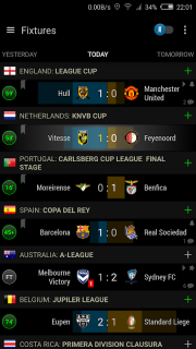 Live Scores Soccer Center screenshot 1