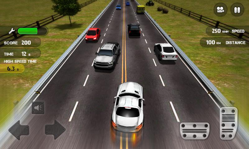 Race the Traffic screenshot 2