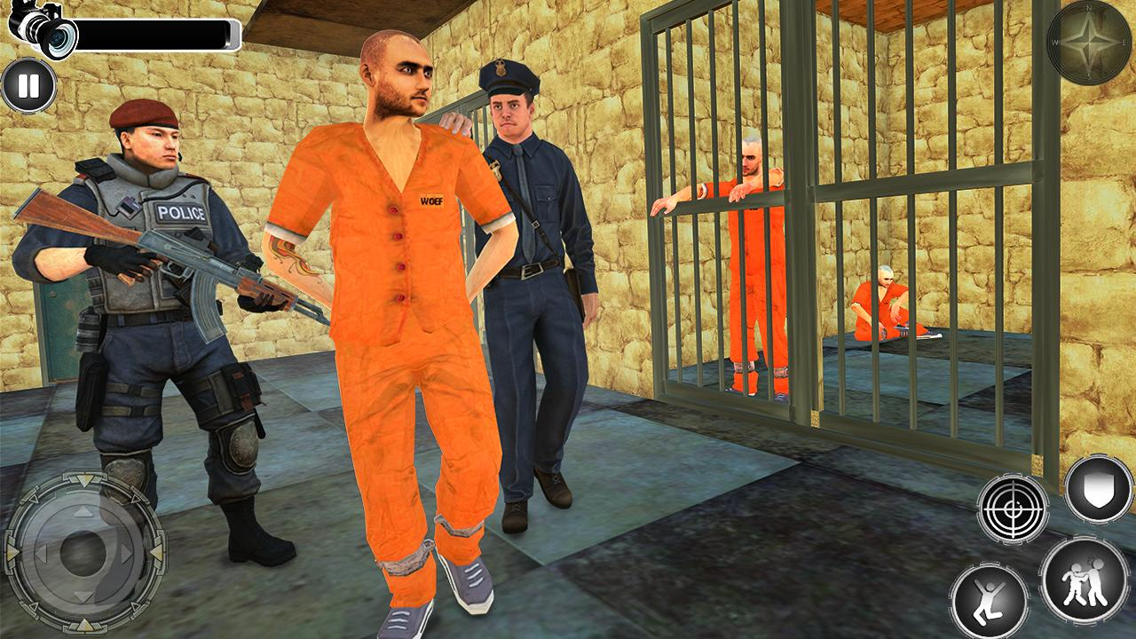 Great Jail Break Mission - Prisoner Escape 2019 screenshot 1