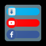 Youtube & Facebook Video Downloader Icon