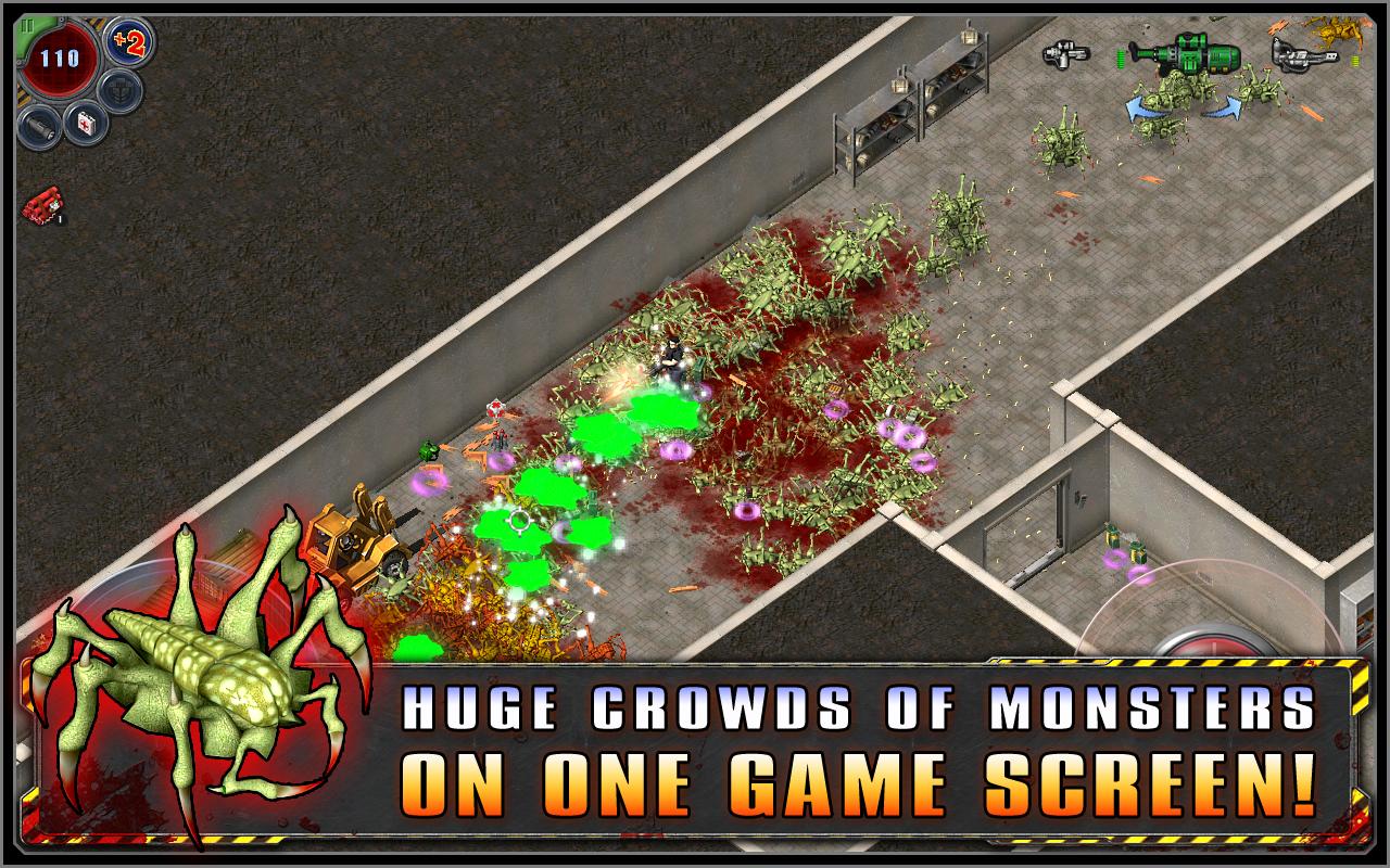Alien Shooter screenshot 2