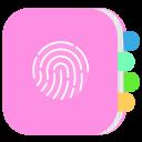diary with a fingerprint lock