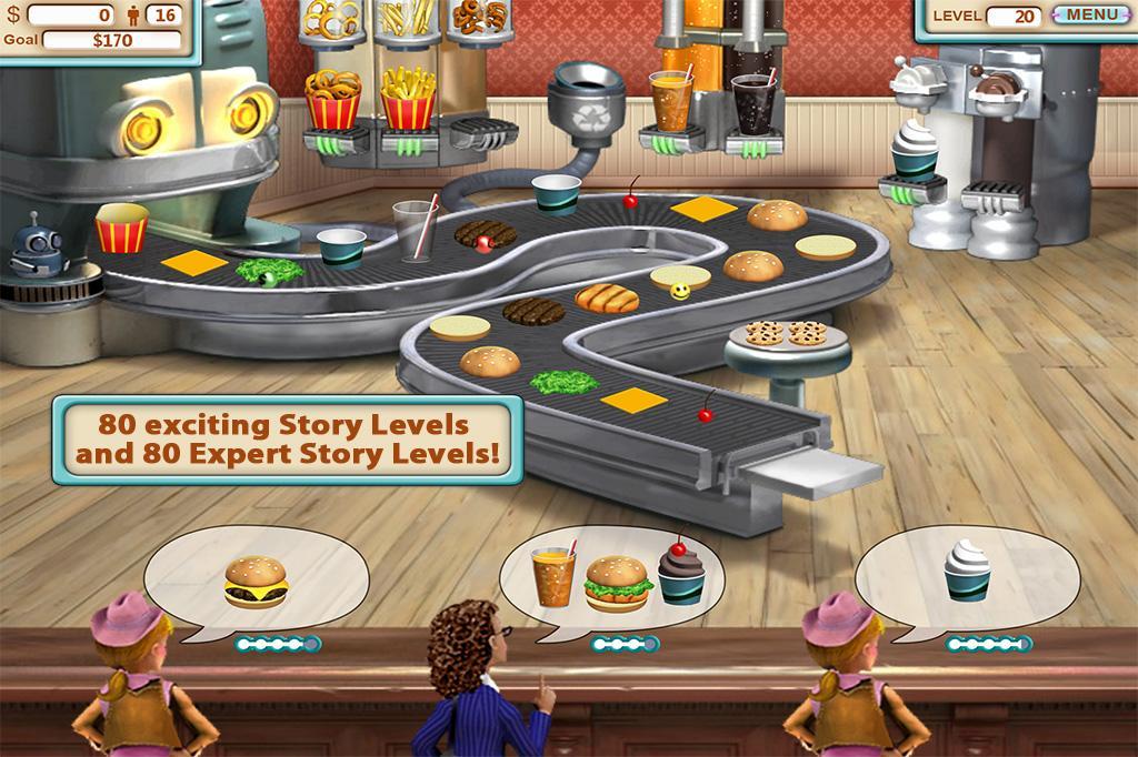 Burger Shop screenshot 1