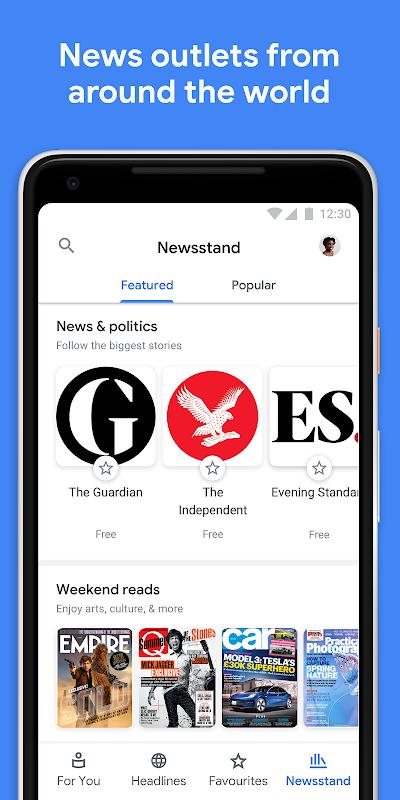 Google Play Newsstand screenshot 5