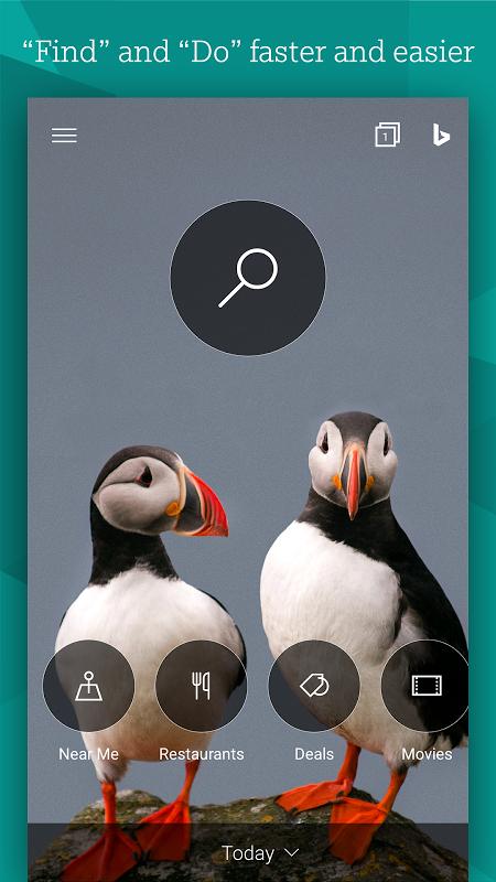 Buscador Microsoft Bing screenshot 1