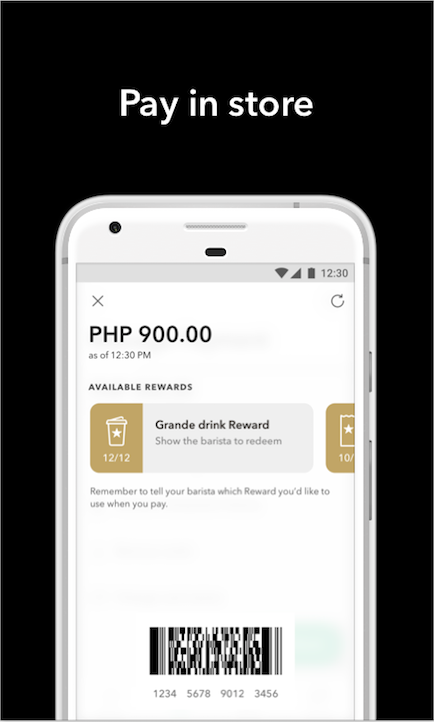 Starbucks Philippines screenshot 1